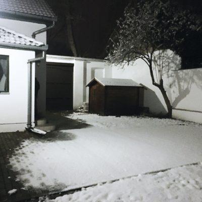Bodzakert és a friss hó
